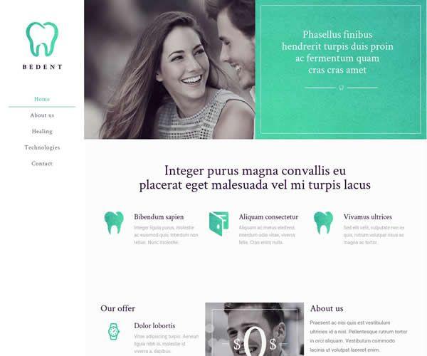Dentist Website Theme