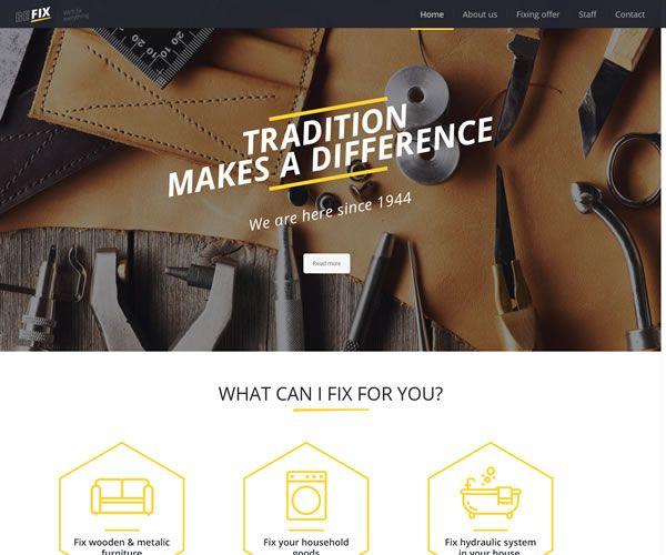 Fixer Website Theme