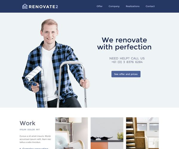 Renovate Website Theme
