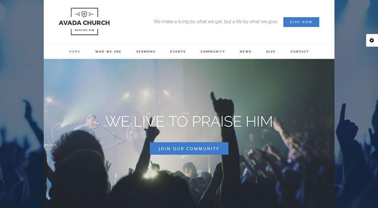 Church Website Demo