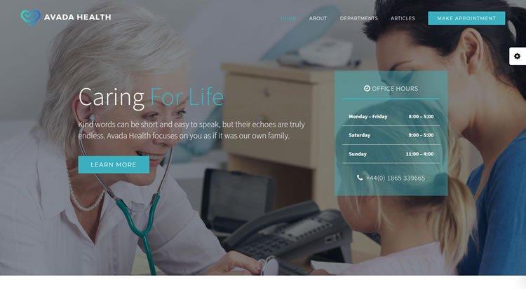 Health Website Demo