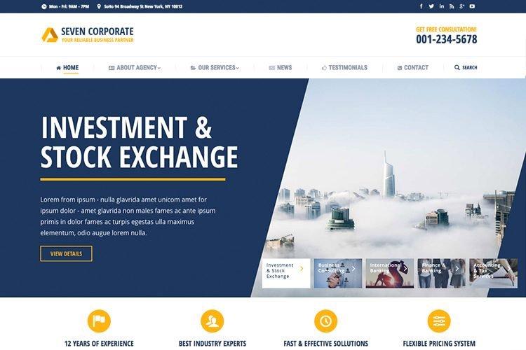 Corporate Website Demo