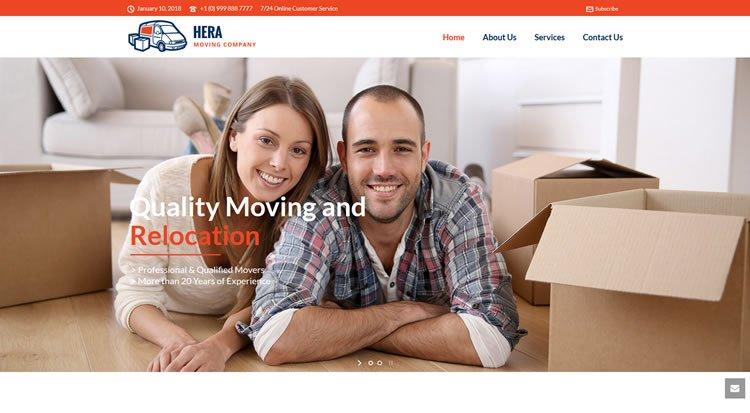 Moving Company Website Demo